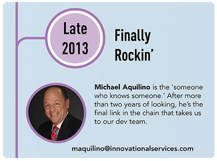 Michael Aquilino Innovational Service